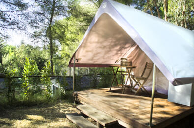 Glamping Time! 15% discount in tent