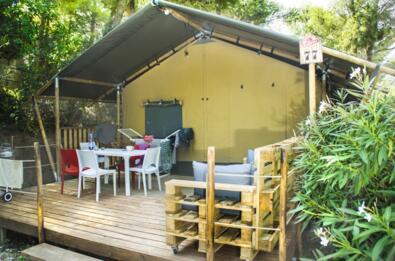 Safari tente