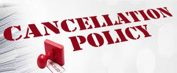 CANCELLATION POLICY 2021