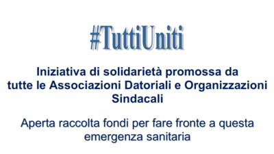 Iniziativa di solidarietà #tuttiuniti