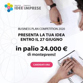Apertura bando Nuove Idee Nuove Imprese 2020