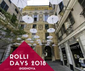 Rolli Days 2018 - Genova 13 e 14 ottobre