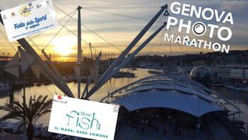 De evenementen in de oude haven van Genua