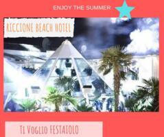 Offerta Weekend Villa delle Rose 12 - 13 - 14 Luglio 2019 + Riccione Beach Hotel