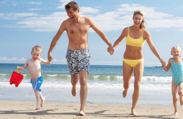 Vacances en juin sur la mer