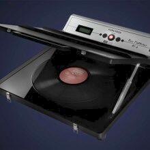 Servizio di recupero LP ondulati tramite macchina Furutech Disc Flattener DF-2