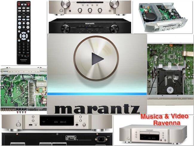 Musica & Video è rivenditore autorizzato Marantz