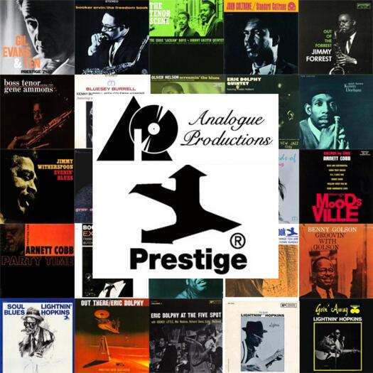 Collezione completa di 25 LP Prestige Stereo/Analogue Productions - Edizione limitata e numerata