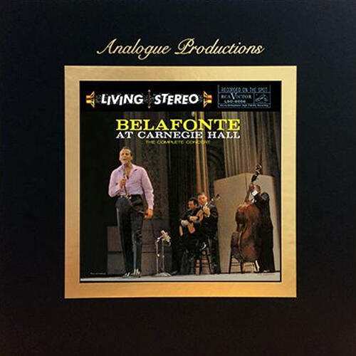 Harry Belafonte - Belafonte at Carnegie Hall / The Complete Concert  -  Cofanetto 5 LP 45 giri