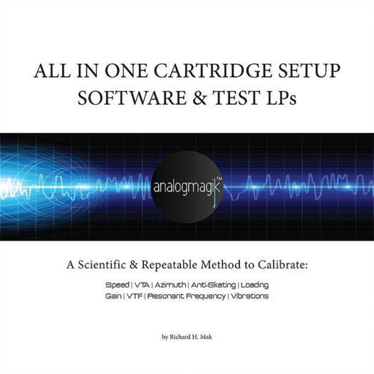 AnalogMagik - Software + dischi test - Made in USA - La taratura PROFESSIONALE del giradischi
