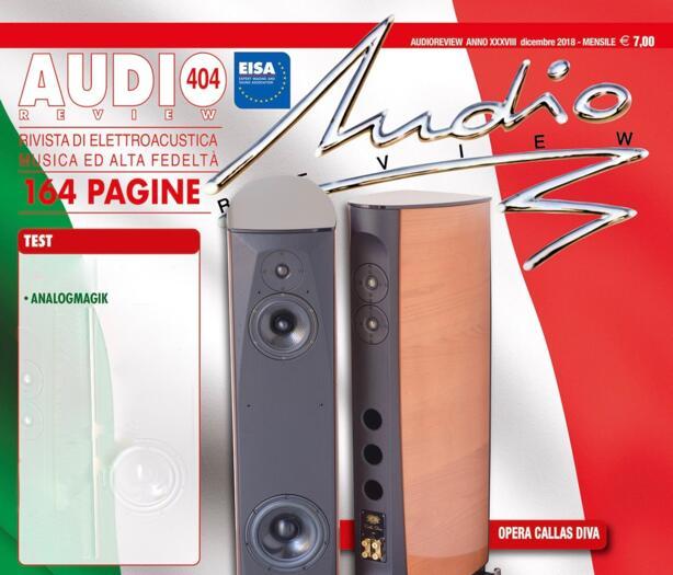 Test della rivista Audio Review del Software AnalogMagik - Un successo meritato!