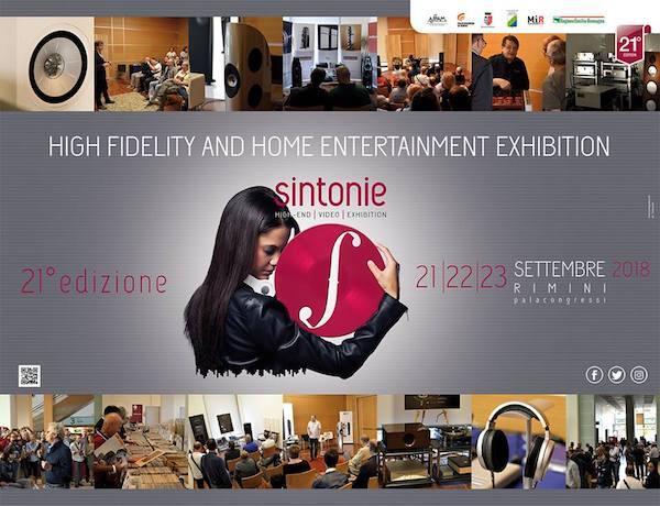 Parteciperemo alla 21° edizione di SINTONIE Palacongressi Rimini 21-22-23 Settembre