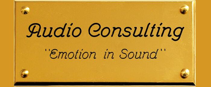 Nuova distribuzione Audio Consulting - Elettroniche allo stato dell'arte.