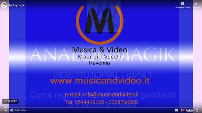 Analogmagik - IL VIDEO