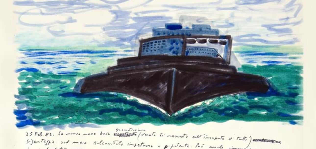 Fellini, il Libro dei sogni e il dialogo tra le arti