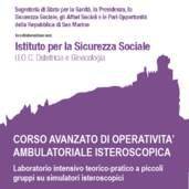 12° CORSO AVANZATO DI OPERATIVITÀ AMBULATORIALE ISTEROSCOPICA