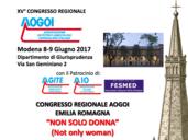 09.06.2017 MODENA XV CONGRESSO REGIONALE AOGOI EMILIA ROMAGNA