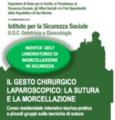 24-25.11.2017 IL GESTO CHIRURGICO: LA SUTURA LAPAROSCOPICA