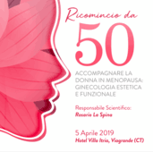05.04.2019 CATANIA ACCOMPAGNARE LA DONNA IN MENOPAUSA