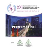 XXII BRAZILIAN CONGRESS OF PATHOLOGY OF LOWER GENITAL TRACT AND COLPOSCOPY