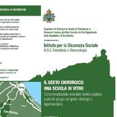 14-16.11.2013 IL GESTO CHIRURGICO: UNA SCUOLA IN VITRO