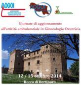 13-14.10.2014 GIORNATE DI AGGIORNAMENTO DELL'ATTIVITA' AMBULATORIALE IN GINECOLOGIA E OSTETRICIA