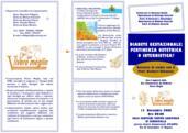16.10.2006 DIABETE GESTAZIONALE: PERTINENZA OSTETRICA O INTERNISTICA?