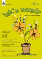 Apertura iscrizioni Centro Estivo Let's Music