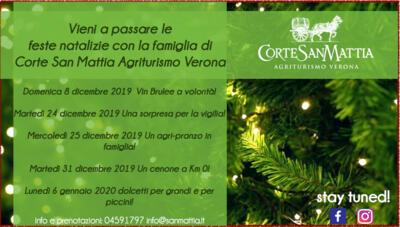 Christmas at Corte San Mattia!