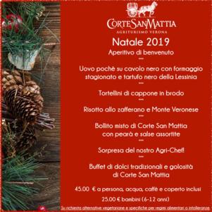 Menù Natale 2019