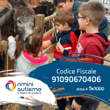 Dona il tuo 5x1000 a Rimini Autismo Onlus