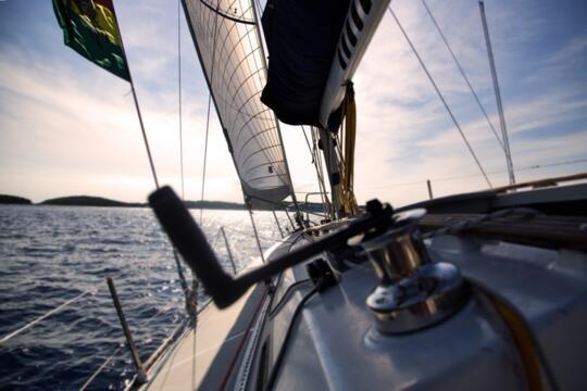 Gita in barca di fine estate