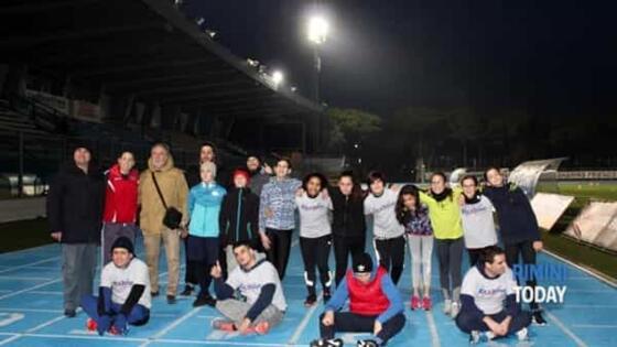 Atletica Riccione Sessantadue e Rimini Autismo