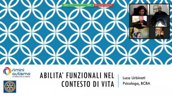Raccolti e donati 2.500 euro dal Club Rotary a Rimini Autismo