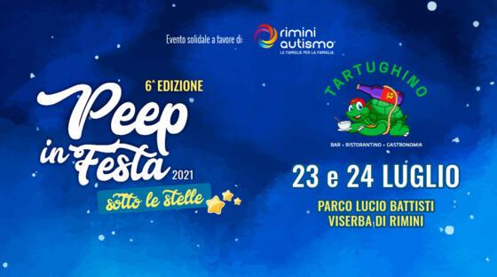 Peep in festa sotto le stelle Viserba 23-24 luglio