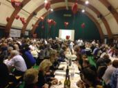 450 persone al tradizionale convivio di beneficenza