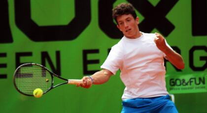 ITF Junior Prato: Bertuccioli ok. Viviani fights but lost to Wargnier (#1).