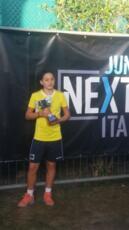 Erika Di Muzio si ferma solo in finale in doppio nell'under 14 Tennis Europe di Correggio