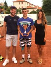 Igino Celiberti conquista il torneo di terza categoria di Camerano