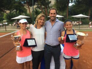Erika Di Muzio conquista lo scudetto tricolore under 14 in doppio a Palermo