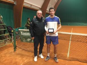 Federico Bertuccioli si ferma solo in semifinale al torneo Open di Cesena