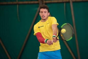 Federico Bertuccioli si piazza nei quarti di finale nell'Open BNL di Ortisei