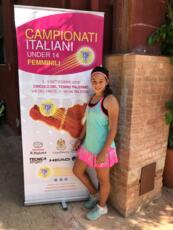 Erika Di Muzio raggiunge il 2° turno nel torneo ITF Junior Tour di La Marsa