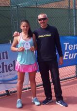 Erika Di Muzio si piazza nei quarti in doppio al 55° Torneo dell'Avvenire under 16