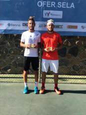 Bertuccioli e Picchione da applausi: vincono il doppio nel Futures ITF di Kiryat Shmona