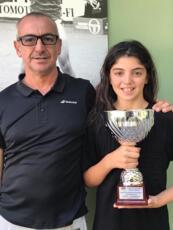 Sveva Azzurra Pansica trionfa tra le under 12 nel Master del circuito Australian