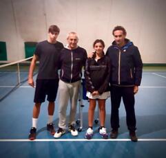 Per i giovani della San Marino Tennis Academy stage di biomeccanica con Gennaro Volturo