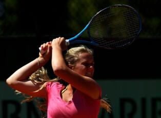 ITF Indian Harbour Beach: Kovalets forced to retire.