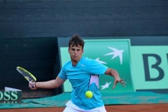 ITF Junior Kelibia: fantastic De Rossi, it's final.
