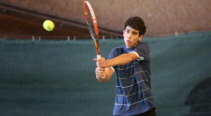 TE under 16 Mestre: Pietro Grassi gets in the quarters.